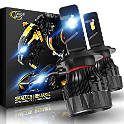 Cougar Motor X-Small H7 LED Headlight Bulb, 10000Lm 6500K All-in-One Conversion Kit – Cool White CREE