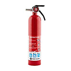 First Alert 1038789 Standard Home Fire Extinguisher, Red