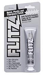 Flitz BP 03511-80A-80PK Metal, Plastic and Fiberglass Polish Paste, 1.76 oz. Blister Tube, 80-Pack
