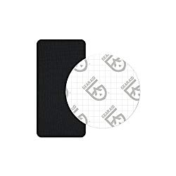 Gear Aid Tenacious Tape GORE-TEX Fabric Patches for Jacket Repair, Black, Round and Rectangle