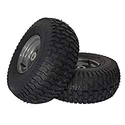MARASTAR 21446-2PK 15×6.00-6″ Front Tire Assembly Replacement-Craftsman Mower, Pack of 2