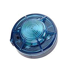 MIUHIU Roadside Flashing Flares Safety Warning Light Emergency LED Strobe Light with Magnetic Base for Vehicle and Marine (Blue)