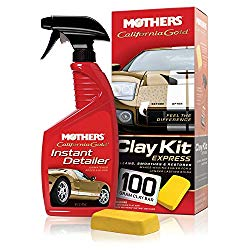 Mothers 07241 California Gold Clay Kit Express