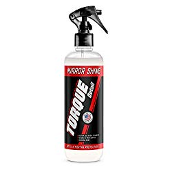 Torque Detail Mirror Shine – Super Gloss Wax & Sealant Hybrid Spray Superior Shine w/Professional Detailer Protection – Quickly Applies in Minutes, Each Coat Last Months (8oz)