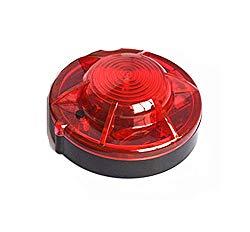 Tumecos Emergency Flare Alert Warning Signal Caution Light LED Beacon Pro with Magnetic Base for Vehicle (Red 1)