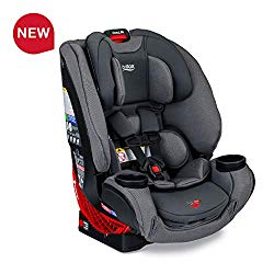 Britax One4Life ClickTight All-in-One Car Seat – 10 Years of Use – Infant, Convertible, Booster – 5 to 120 pounds – SafeWash Fabric, Drift