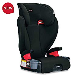 Britax Skyline 2-Stage Belt-Positioning Booster Car Seat – Highback and Backless – 2 Layer Impact Protection – 40 to 120 Pounds, Dusk