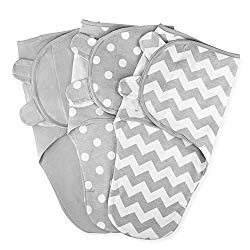 Comfy Cubs Swaddle Blanket Baby Girl Boy Easy Adjustable 3 Pack Infant Sleep Sack Wrap Newborn Babies