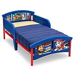 Delta Children Plastic Toddler Bed, Nick Jr. PAW Patrol