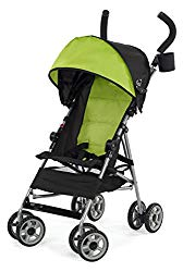 Kolcraft Cloud Lightweight Umbrella Stroller with Large Sun Canopy, Spring Green