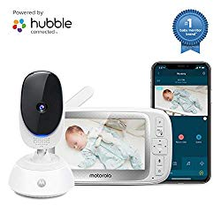 Motorola Connect40 Wireless Security Camera – Family Video Intercom Communication System – Infant, Elderly, Pet Monitor – App, WiFi, Voice Assistant-Enabled with Digital Pan, Zoom, Tilt, Night Vision