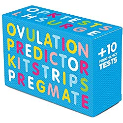 PREGMATE 30 Ovulation and 10 Pregnancy Test Strips Predictor Kit (30 LH + 10 HCG)