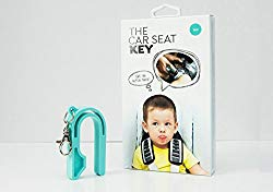 The Car Seat Key – Easy CAR SEAT UNBUCKLE by NAMRA Made in USA (Teal)