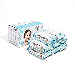 The Honest Company Baby Wipes – Pure and Gentle | Plant-Based | Alcohol, Fragrance and Paraben Free | Hypoallergenic Honest Wipes | 576 Count