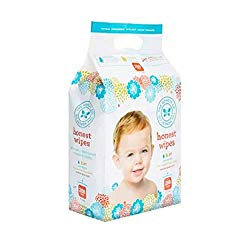 The Honest Company Baby Wipes – Pure & Gentle | Plant-Based | Alcohol, Fragrance & Paraben Free | Hypoallergenic Honest Wipes | 288 Count (Packaging May Vary)