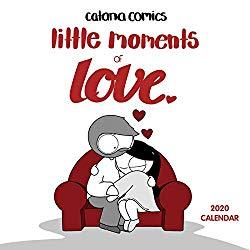 Catana Comics Little Moments of Love 2020 Wall Calendar