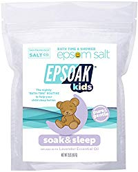 Epsoak Kids Lavender Soak & Sleep Epsom Salt – 2 lb. Bag