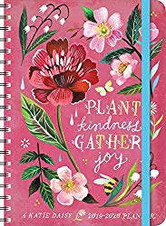 Katie Daisy 2020 On-the-Go Weekly Planner: 17-Month Calendar with Pocket (Aug 2019 – Dec 2020, 5″ x 7″ closed)