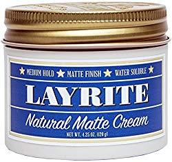 Layrite Natural Matte Cream 4.25oz