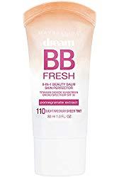Maybelline Dream Fresh BB Cream, Light/Medium, 1 Ounce (Packaging May Vary)
