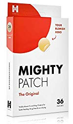 Mighty Patch Original – Hydrocolloid Acne Pimple Patch Spot Treatment (36 count) for Face, Vegan, Cruelty-Free