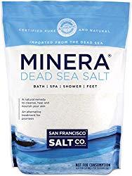 Minera Dead Sea Salt – 19 lbs. Fine Bulk Bag