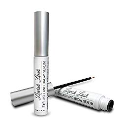 Pronexa Hairgenics Lavish Lash – Eyelash Growth Enhancer & Brow Serum with Biotin & Natural Growth Peptides for Long, Thick Looking Lashes and Eyebrows! Dermatologist Certified & Hypoallergenic.