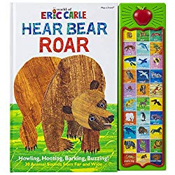 World of Eric Carle, Hear Bear Roar 30 Animal Sound Book – PI Kids (Play-A-Sound)