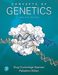 Concepts of Genetics (12th Edition)