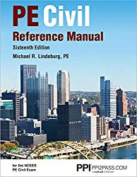 PPI PE Civil Reference Manual, 16th New Edition (Hardcover) – Comprehensive Reference Manual for the NCEES PE Civil Exam