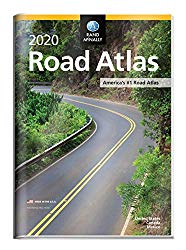 Rand McNally 2020 Road Atlas with Protective Vinyl Cover (Rand McNally Road Atlas United States/ Canada/Mexico (GIFT EDITION))