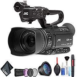 JVC GY-HM180 Ultra HD 4K Camcorder Basic Bundle