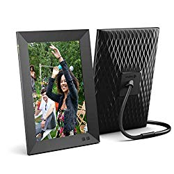Nixplay Smart Digital Photo Frame 10.1 Inch – Share Moments Instantly via E-Mail or App