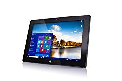 10″ Windows 10 Fusion5 Ultra Slim Windows Tablet PC- (4GB RAM, 64GB Storage, FWIN232+ Model, Full Size USB 3.0, Intel Quad-core, 5MP and 2MP Dual Cameras, Bluetooth, October 2018 Model,Windows 10 S