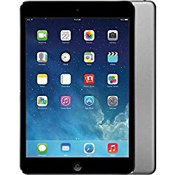 Apple iPad Air 9.7in WiFi 16GB Tablet – Space Gray – MD785LL/A (Renewed)