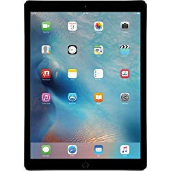 Apple iPad Pro 9.7-inch (128GB, Wi-Fi + 4G LTE Cellular) MLQ32LL/A 2016 Model, Space Gray (Renewed)