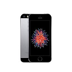Apple iPhone SE, 16GB, Space Gray – Fully Unlocked (Renewed)