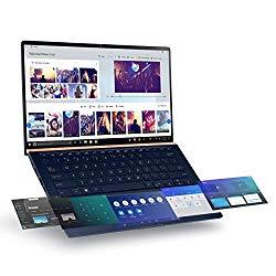 Asus ZenBook 14 Ultra-Slim Laptop 14″ Full HD NanoEdge Bezel, Intel Core i7-10510U, 16GB RAM, 512GB PCIe SSD, GeForce MX250, Innovative Screenpad 2.0, Windows 10 Pro, UX434FLC-XH77, Royal Blue