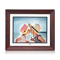 BSIMB Digital Picture Frame Digital Photo Frame 9 Inch IPS Display 1067×800(4:3) Hi-Res Digital Photo & HD Video Frame with Motion Sensor USB/SD Card Playback Calendar Remote Control M09