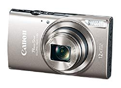 Canon PowerShot ELPH 360 Digital Camera w/ 12x Optical Zoom and Image Stabilization – Wi-Fi & NFC Enabled (Silver)