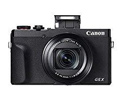 Canon PowerShot G5 X Mark II Digital Camera w/ 1 Inch Sensor, Wi-Fi & NFC Enabled, Black
