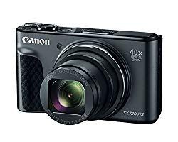Canon PowerShot SX730 Digital Camera w/40x Optical Zoom & 3 Inch Tilt LCD – Wi-Fi, NFC, Bluetooth Enabled (Black)