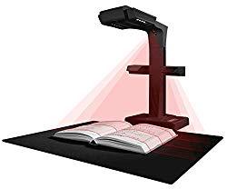 CZUR ET18 Pro Professional Document Scanner, 2nd Gen Auto-Flatten & Deskew Tech, 18MP Sony Camera, Capture A3, 186 Languages OCR, Convert to PDF/Searchable PDF/Word/Tiff/Excel, Run On Windows&Mac OS