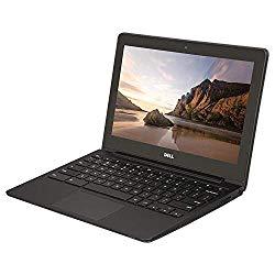 Dell ChromeBook 11 -Intel Celeron 2955U, 4GB Ram, 16GB SSD, WebCam, HDMI, (11.6 HD Screen 1366×768) (Renewed)