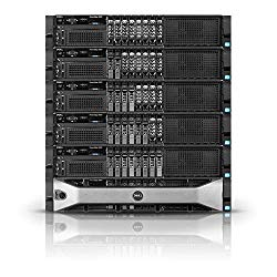 Dell PowerEdge R820 Server | 4X E5-4650 32 Cores | 512GB | H710 | 8X 1TB New EVO SSD (Renewed)