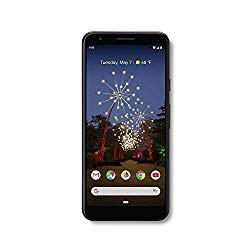 Google – Pixel 3a with 64GB Memory Cell Phone (Unlocked) – Just Black – G020G