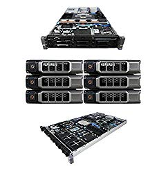 High-End Virtualization Server 12-Core 128GB RAM 12TB RAID Dell PowerEdge R710 Bezel and Rails (Renewed)