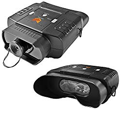 Nightfox 100V Widescreen Digital Night Vision Infrared Binocular with Zoom 3×20