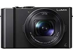 PANASONIC LUMIX LX10 4K Digital Camera, 20.1 Megapixel 1-Inch Sensor, 3X LEICA DC VARIO-SUMMILUX Lens, F1.4-2.8 Aperture, POWER O.I.S. Stabilization, 3-Inch LCD, DMC-LX10K (Black)