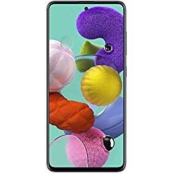 Samsung Galaxy A51 (SM-A515F/DS) Dual SIM 128GB, GSM Unlocked – Prism Crush Black